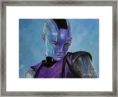 Nebula Framed Print by Tom Carlton