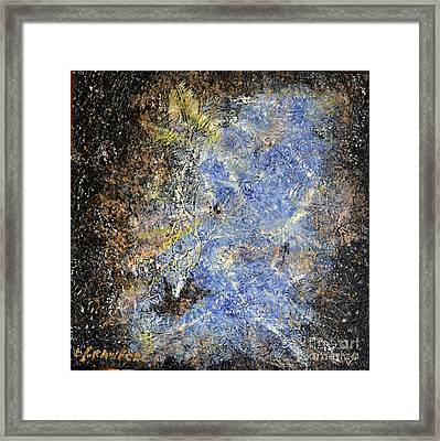 Nebulous   Framed Print by Lori Jacobus-Crawford