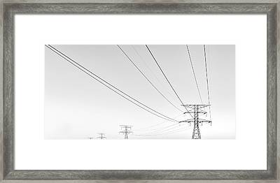 Necessary Evil Framed Print