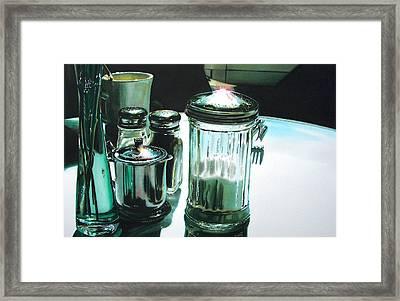 Necessities Framed Print by Denny Bond