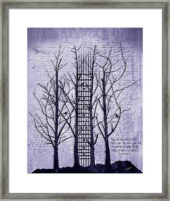 Neck Of The Woods II  Framed Print