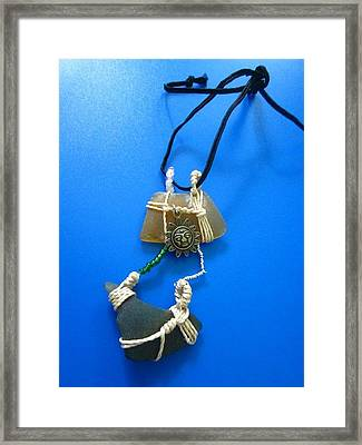 Necklace 2 Framed Print by Lorna Diwata Fernandez