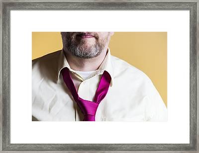 Necktie Framed Print by Lasse Ansaharju