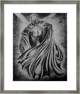 Necro-feel-ya Framed Print by Alexander Holmes