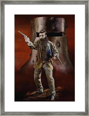 Ned Kelly Framed Print by Chris Collingwood