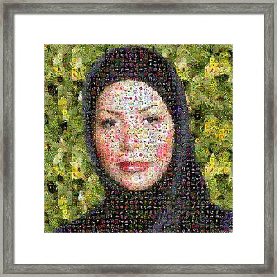 Neda Agha-soltan Framed Print by Gilberto Viciedo