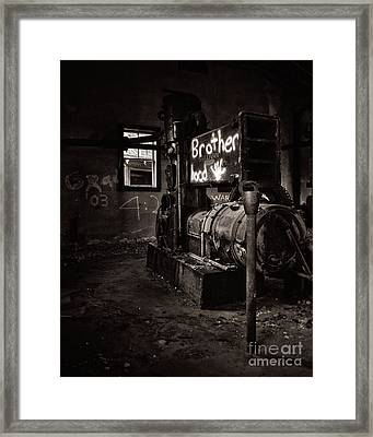 Need A New Engine Framed Print by Royce Howland