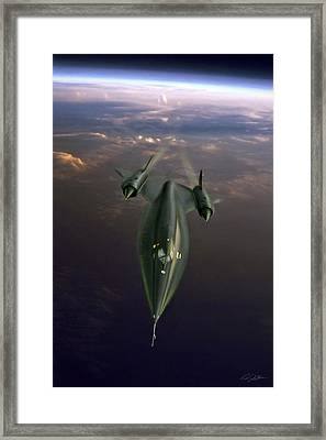 Need For Speed A-12 Oxcart Framed Print by Peter Chilelli