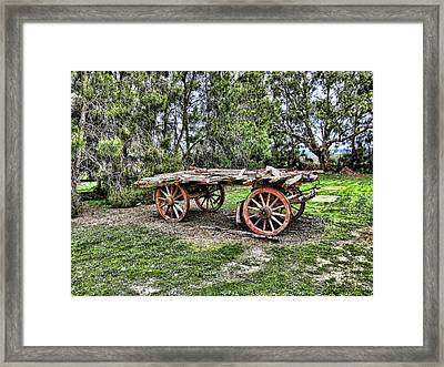Need Horsepower Framed Print by Douglas Barnard