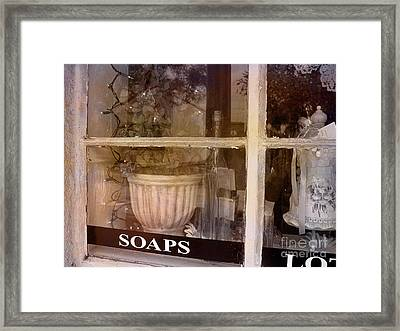 Need Soaps Framed Print by Susanne Van Hulst