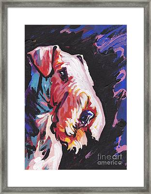 Need Some Aire Framed Print by Lea S
