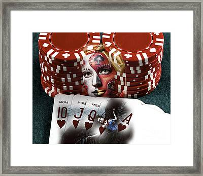 Need Some Luck Framed Print by John Rizzuto