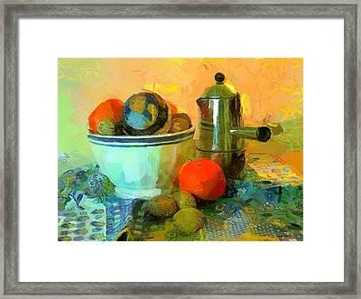 Needful Things Framed Print by Wayne Pascall
