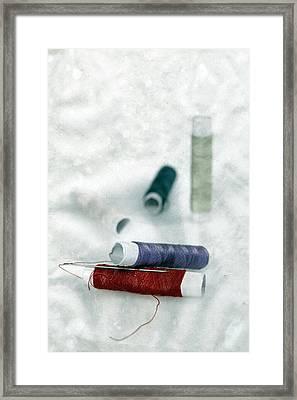 Needle And Thread Framed Print by Joana Kruse