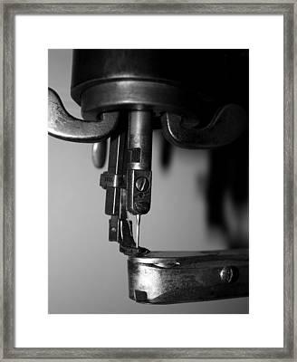 Needle Framed Print