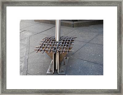 Needle  Framed Print by Rob Hans