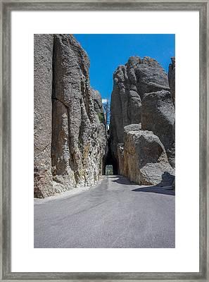Needles Eye Tunnel, Sd Framed Print