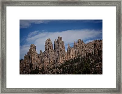 Needles, North Dakota Framed Print