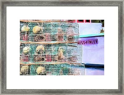 Framed Print featuring the digital art Needs A D by JC Findley