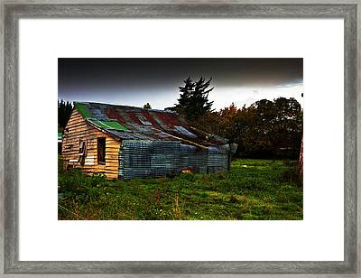 Needs Work Framed Print by Avalon Fine Art Photography
