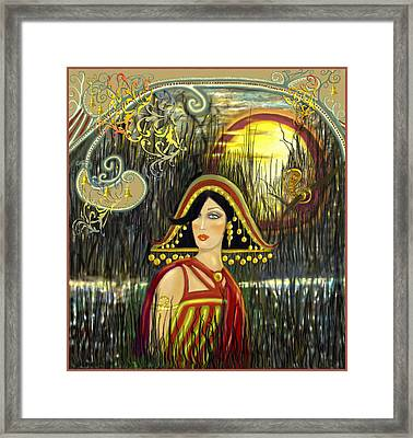 Nefetiti Framed Print by Lynell Withers