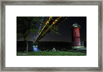 Negotiations - The Battle At The G. W. B. Framed Print