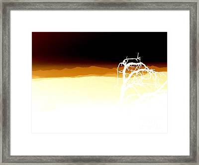 Negset Framed Print by Lionel Martinez