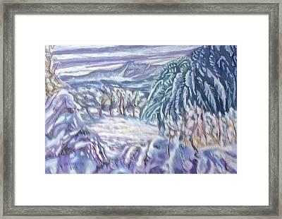 Negua Framed Print