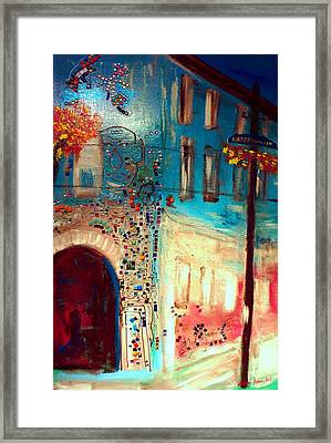 Neighborhood 2 Framed Print