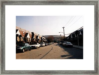 Neighborhood Park Framed Print by Susan Stevenson