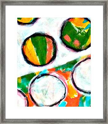 Neighbors I Framed Print by Shelley Graham Turner