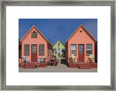 Neighbors Framed Print by Paul Wear