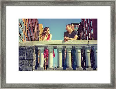 Neighbors Framed Print