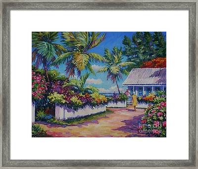Neighbours Framed Print by John Clark