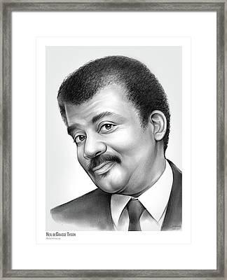 Neil Degrasse Tyson Framed Print