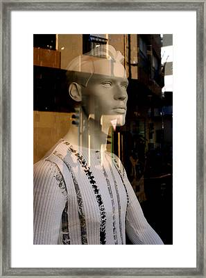 Neil Framed Print by Jez C Self