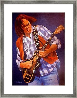 Neil Framed Print by Tom O'Hara