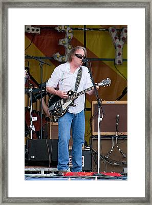 Neil Young Framed Print by Terry Finegan