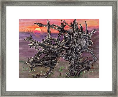 Neither Dead Nor Alive Framed Print by Ying Wong