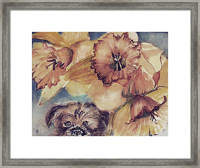 Framed Print featuring the painting Nellie Mae by Mindy Newman
