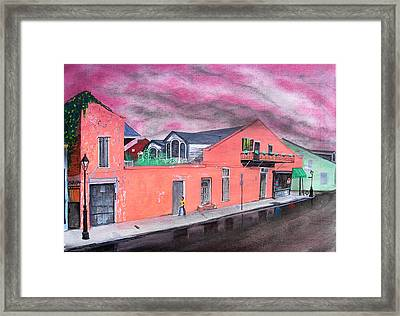 Nelly's Deli Framed Print by Tom Hefko