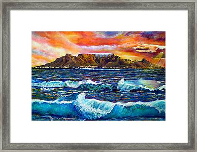 Nelsons View Of Freedom Framed Print by Michael Durst