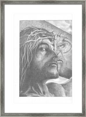 Nemesis 1 Of 2  Framed Print by Julian  B