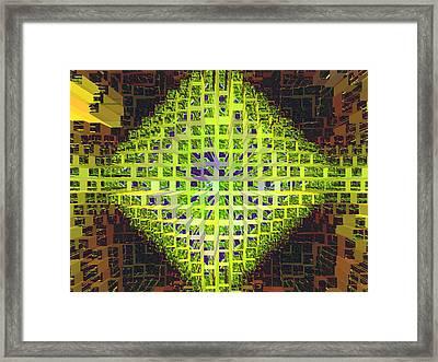 Nemesis 4 Framed Print by Lynda Lehmann