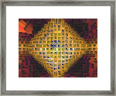 Nemesis 6 Framed Print by Lynda Lehmann
