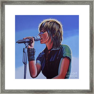 Nena Painting Framed Print