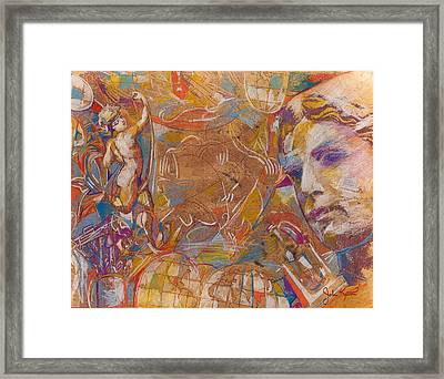 Neo Classic Collage Framed Print by John Keaton