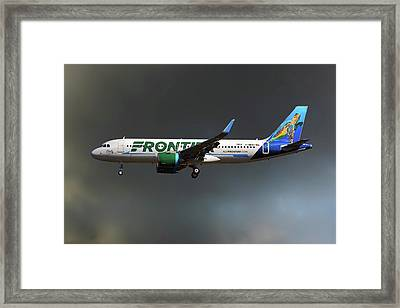 Neo Frontier Airbus A320 Framed Print