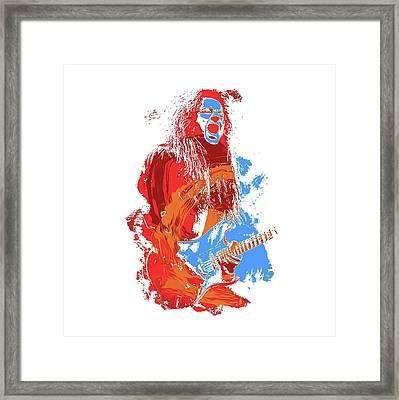 Neoclassical Guitarist Framed Print by Andrea Mazzocchetti