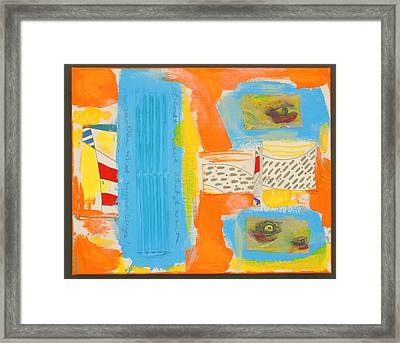 Neofrankenthal Copyright Two Thousand Nine J.a.moscariello Framed Print by Jaye  Alison